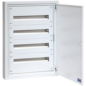 Aufputz Flachverteiler (BxHxT) 800 x 1000 x 100 mm RAL9016