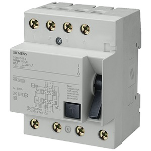 Fehlerstromsschutzschalter / FI 4p Typ B kurzzeitverzögert 80 A 30 mA 400 V