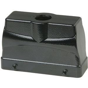 Tüllengehäuse BHT24 76 mm hoch schwarz