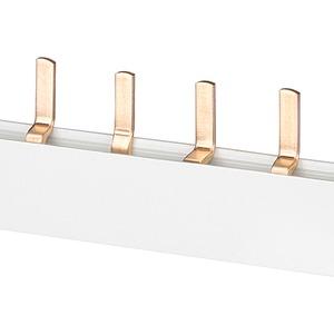 Stiftsammelschiene 10qmm Anschluss:2x3X (1-phasig+N)