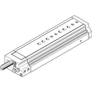 Mini-Schlitten Kugel-Käfig-Führung Baugr. 20 mm / Hub 150 mm P1-Dämpf.