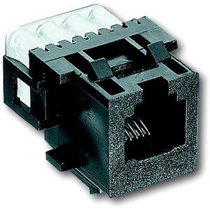 Unterputz Einsatz Datenkommunikation Modular-Jack-Buchse 6-polig
