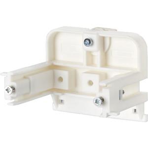 Montagehalter für Anschlussdosen Hutschienenbefestigung waagrecht 50mm