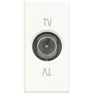 TV-End-/Einzel-/Durchgangsdose 9,5 mm Durchmesser männlich