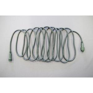 QuickFix Verlängerungskabel 2x5m 36V schwarzes Kabel