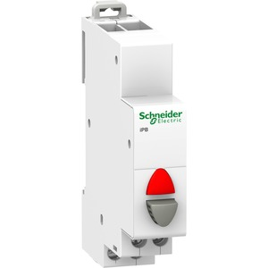 Drucktaster iPB 1Ö grau LED rot 110-230VAC