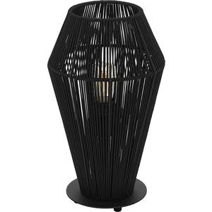 Tischleuchte PALMONES E27 1x60W schwarz