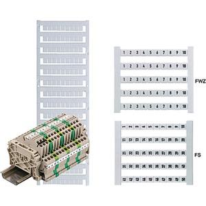 Klemmenmarkierer / Verbindermarkierer 5 x 5 mm Polyamid Nr. 2