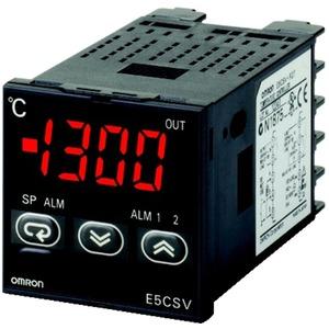 Temperaturregler 1/16 DIN Relais 1 Alarmausgang Thermoelement Pt100