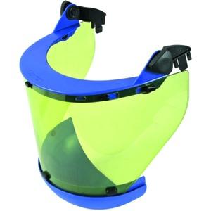 Störlichtbogengeprüfter Schutzschirm mit Steckclip und Kinnschutz