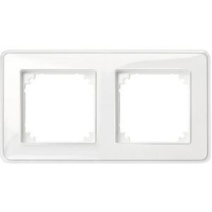 M-CreativAbdeckrahmen 2fach transparent/polarweiß M-Creativ