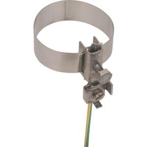 Erdungsbandrohrschelle 26,9-114,3 mm (3/4-4')