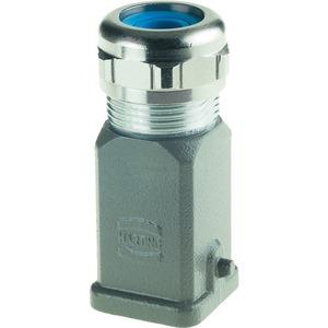 Tüllengehäuse mit integrierter Kabelverschraubung 3 A Han A 6 - 12 mm