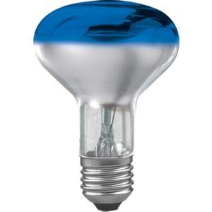 Glühlampe Reflektor R80 60 Watt E27 Blau