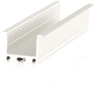 LED Einbauprofil XT01 Alu eloxiert LxBxH : 2000x23x19 mm max. 29 W/m