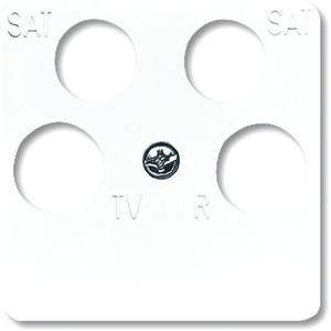 Abdeckung Reflex SI für 4-fach-Antennensteckdosen (Ankaro)