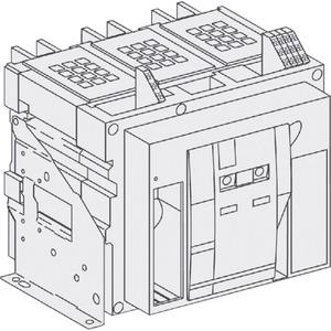 Leistungsschalter Grundgrerät Masterpact in Festeinbau 3-polig NW10
