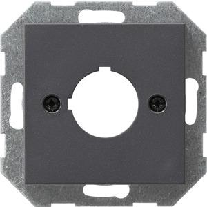 Abdeckung mit Tragring Geräte mit 22,5 mm für System 55 anthrazit