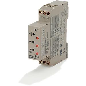 Zeitrelais 8 Zeitfunktionen 24-230VAC/24-48VDC 1 Wechsler 5A 17.5mm DI