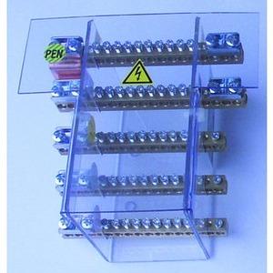 Sammelschienensystem 125A/5pol Anschlußmöglichkeiten 10x10mm2