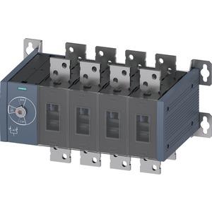 Handbetätiger Netzumschalter MTSE Baugr. 5 1250A 4-polig Frontantrieb