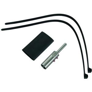 Anschlusselement mit Montagematerial für HVI-long-Leitung D 20mm