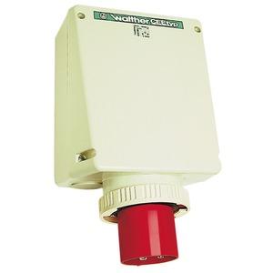 Wandgerätestecker 125A 5P 400V 6h IP67