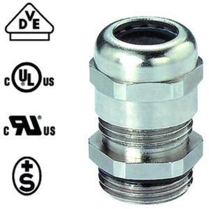 Kabelverschraubung PERFECT 50.663 M M63x1,5 mm Messing/Vernickelt