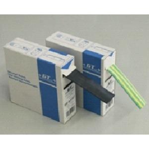 Schrumpfschlauch Abrollbox 25,4 - 12,7mm/L=5m ohne Kleber schwarz