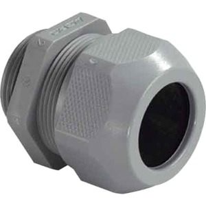 Kabelverschraubung PG11 Kunststoff PA 6 dunkelgrau SYNTEC
