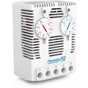 Zwillings Thermostat mit Ö / S mit Sprungkontakt für Schaltschrankhzg.
