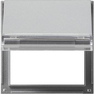 Adapterrahmen KD beschriftbar für TX_44 (WG UP) Farbe Aluminium