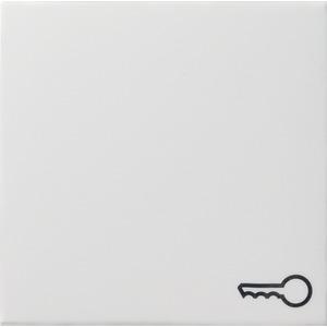Wippe Symbol Schlüssel System 55 reinweiß