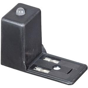 Ventil-Entstörmodul Bauform BI - 11mm. Varistor und LED 230V AC/DC