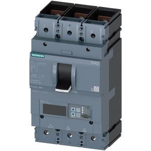 Leistungsschalter 3VA2 Ic55kA 3pol In=630A Ir=252A-630A Isd=0,6-10x In