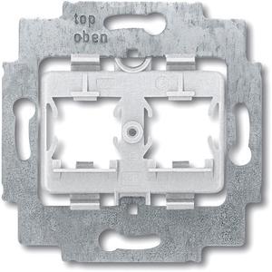 Modular Jack Tragring mit Sockel grau