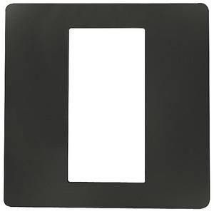 Dekorblende für Fingerscanner Unterputz anthrazit 50 x 50 mm