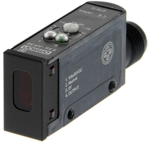 Reflexionslichtschranke Rw 0,1..2m rot 700nm 0,5ms 10..30VDC PNP M12