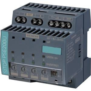 SITOP Selektivitätsmodul 4-kanalig 24 V / 12 A - Summenmeldekontakt