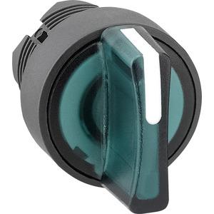 Leuchtwahlschalter 3 Stellungen Taster grün ZB5AK1533