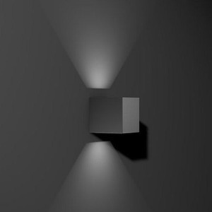 LED Wandleuchten ZONO I anthrazit 2x4W 3000K 100lm 2xFlood IP65