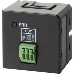 CP1 Optionsmodul für zwei analoge Ausgänge 0…10V 12 Bit
