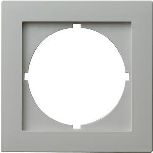 Adapterrahmen 50x50 rund für S-Color grau