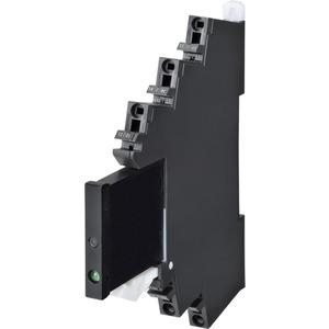Halbleiterrelais 6mm inkl. Sockel MOSFET Push-In Plus 3A 110V AC
