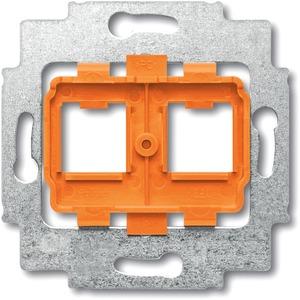 Modular Jack Tragring mit Sockel orange