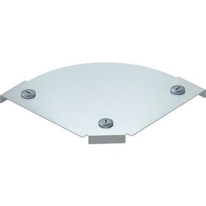 Deckel für Bogen 90°  Magic horizontal Stahl bandverzinkt 150 mm