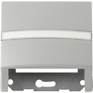 Datenhaube beschriftbar mit Tragring für S-Color grau