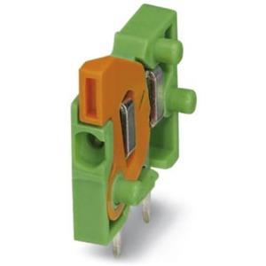 Leiterplattenklemme 6A 160V 2,54mm 3-polig Push-In-Federanschluss grau
