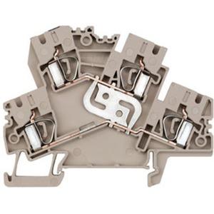 Mehrstock-Reihenklemme ZDK 4-2 V
