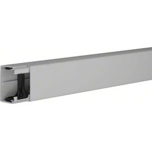 Leitungsführungskanal aus PVC LF 40 x 60 mm steingrau